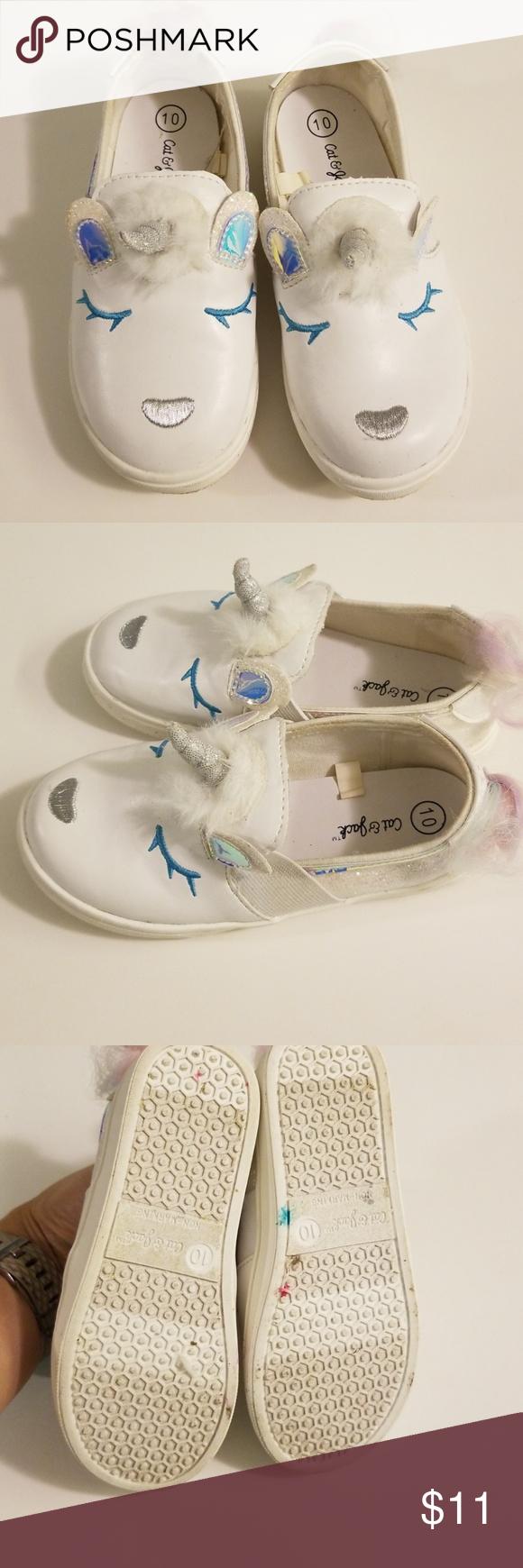 Jack Unicorn Slip-on Toddler Shoes Size