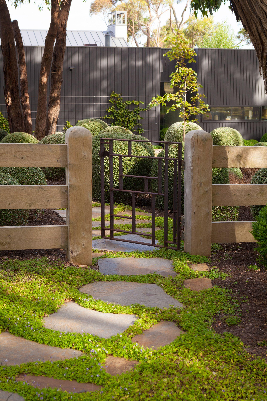 Ben Scott - Garden Design - Flinders Garden | Fences / Gates ...