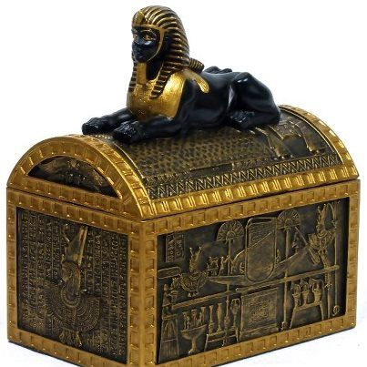 Ancient Egypt Sphinx Jewellery Box Ancient Egypt Pinterest