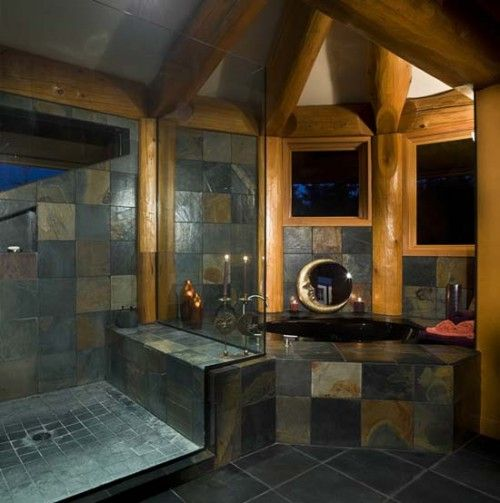 10 images about bathroom on Pinterest Decoration for bathroom Suburban  house and Natural stones  10. Stone Bathroom