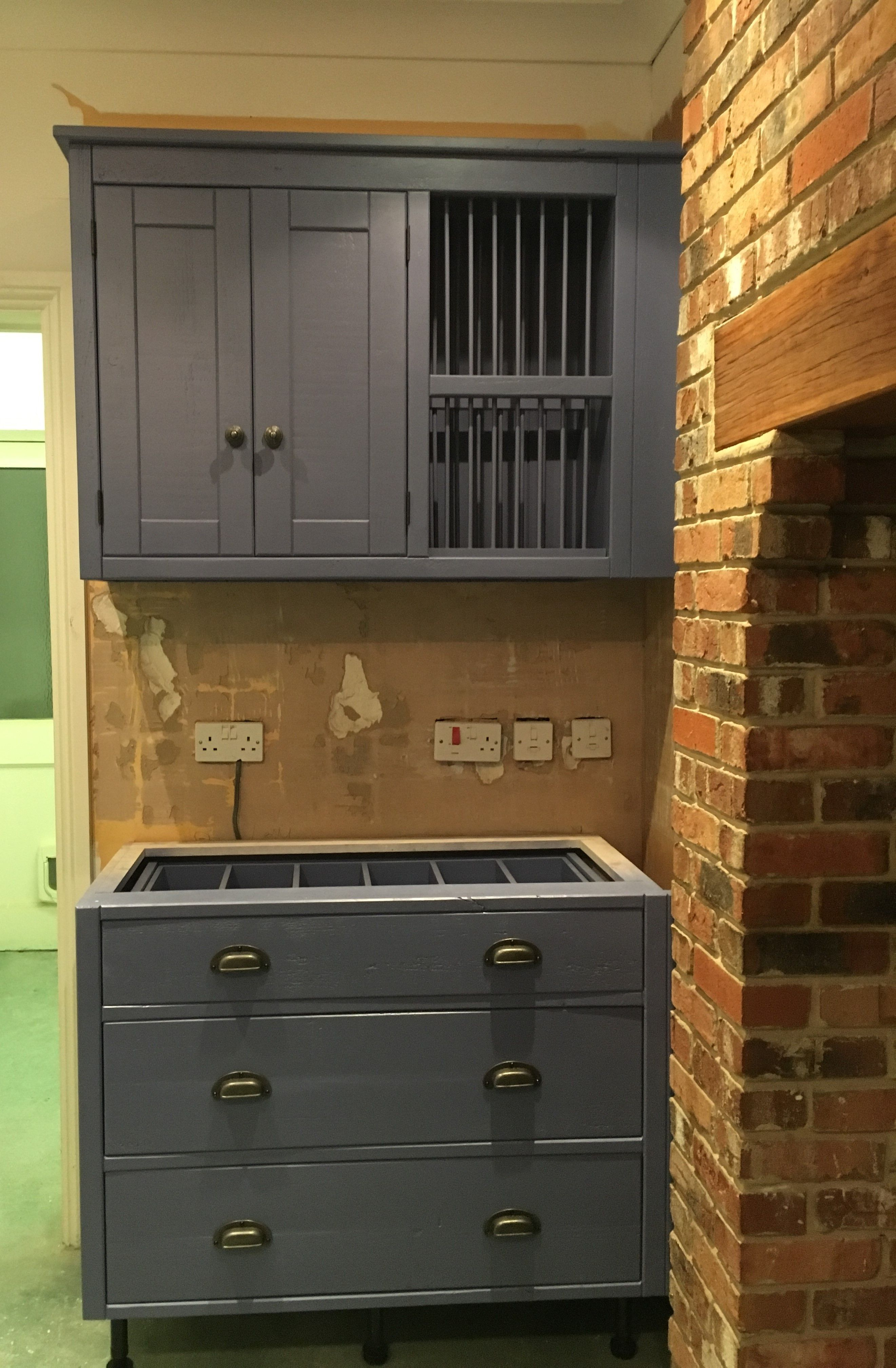 Bespoke Kitchen Painted In Farrow And Ball Pitch Blue Paint Contact Us For A Quote Today Pine Furniture Solid Wood Furniture Bespoke Kitchens