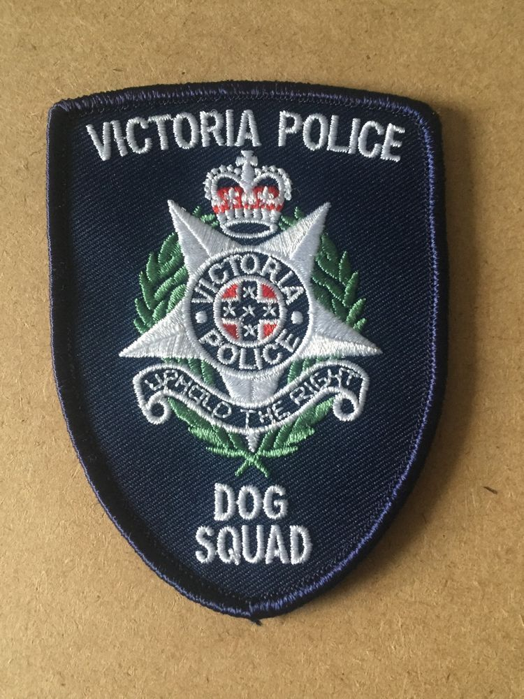 [68] Australia's Victoria Police Dog Squad Shoulder Patch
