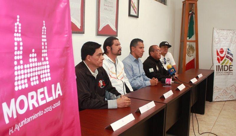 En Morelia se realizará la etapa municipal de los Juegos Nacionales Populares, la cual tendrá verificativo el sábado 28 de mayo, en el Complejo Deportivo Bicentenario, a partir de las ...