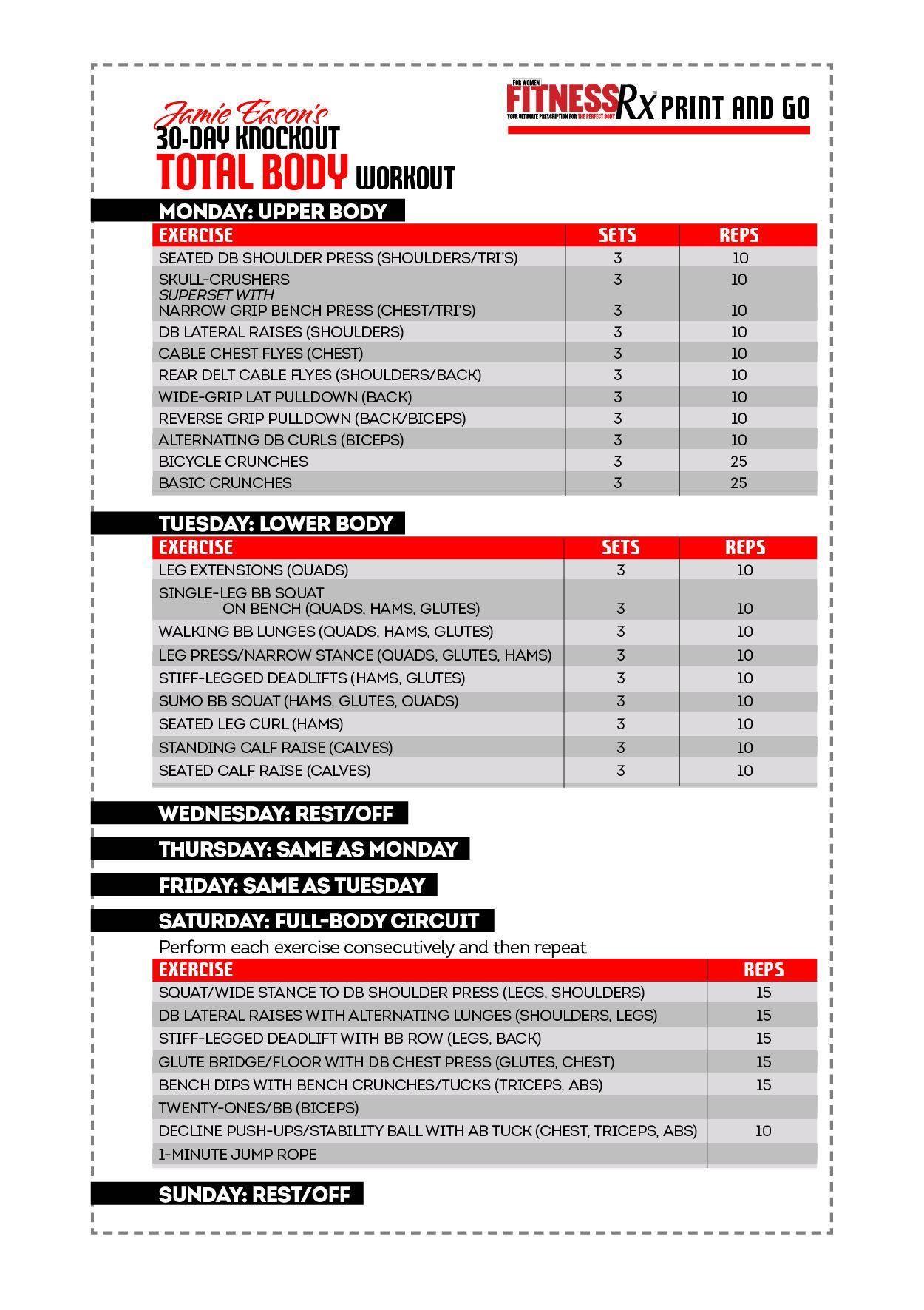 barrie go full schedule pdf