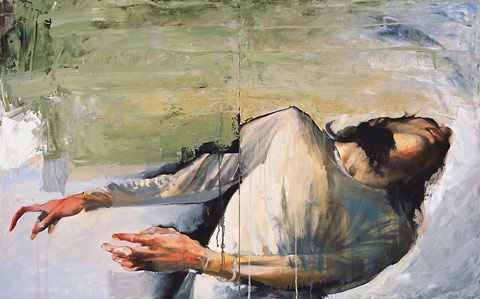 Expressionist paintings by Jason Shawn Alexander | The broken ...