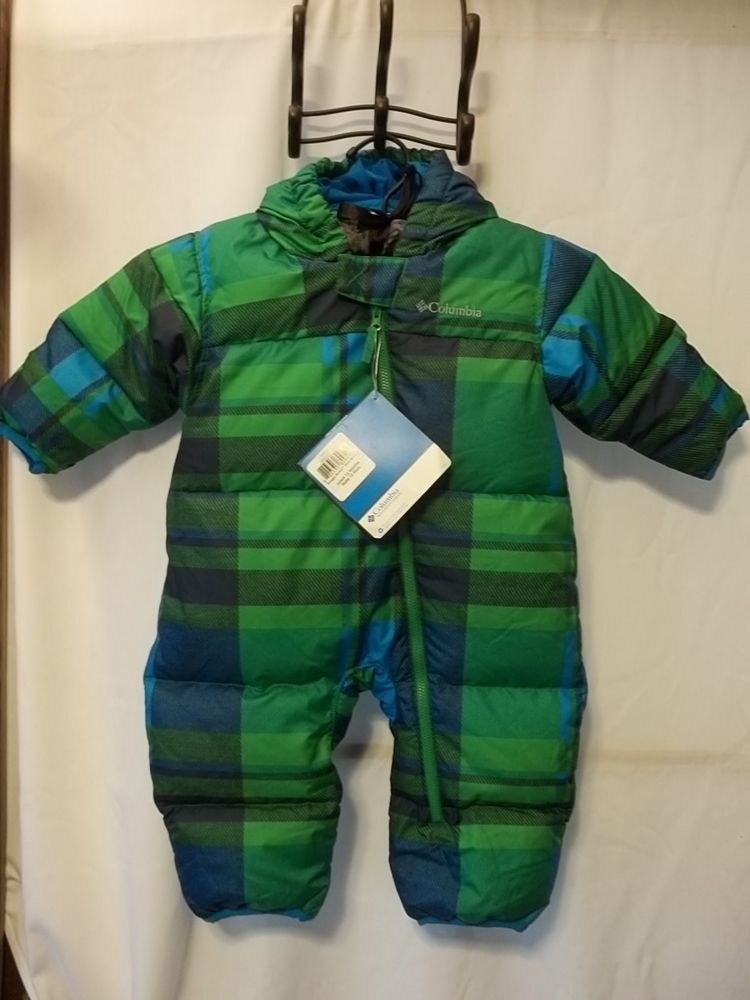 75401944814f Snowsuit Bunting Columbia 12 Month Boys Water Stain Resistant Blue ...