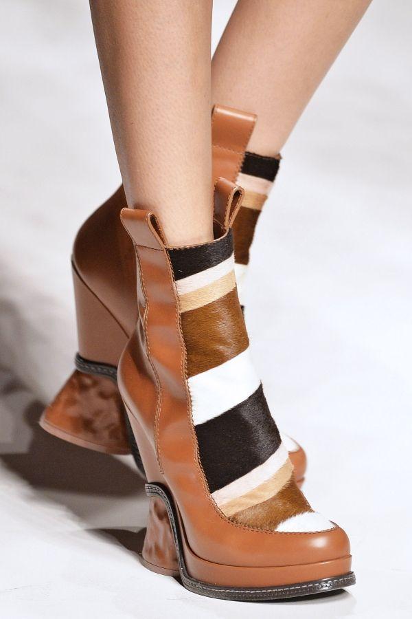 Fendi's Striped Booties