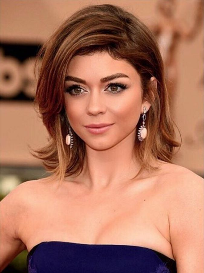 Bekend Sarah Hyland SAG Awards 2016 Blowout by Ryan Richman | {Blowouts  GH82