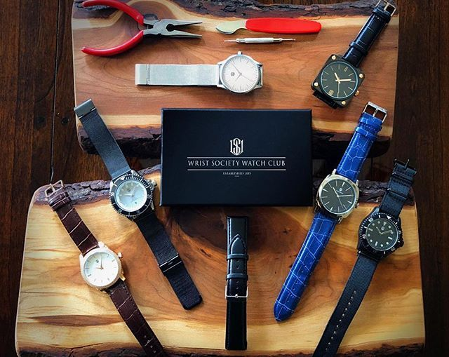 pin by wrist society on monthly watch subscription box pinterest