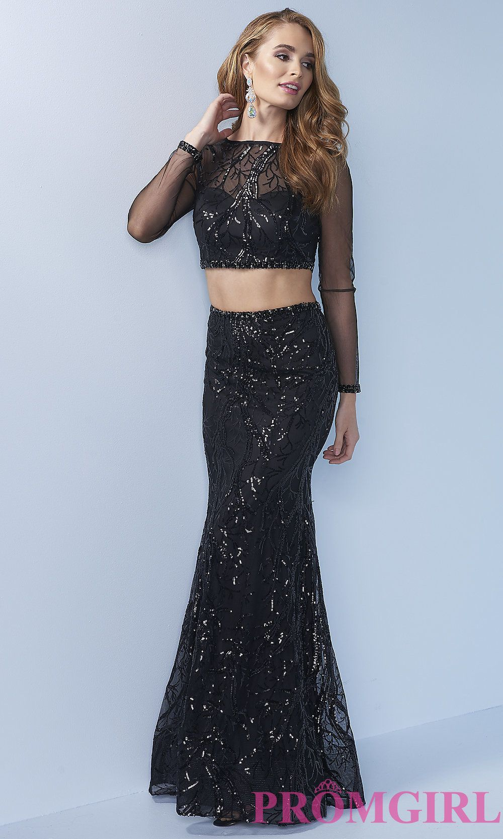 Celebrity prom dresses sexy evening gowns promgirl sheer long