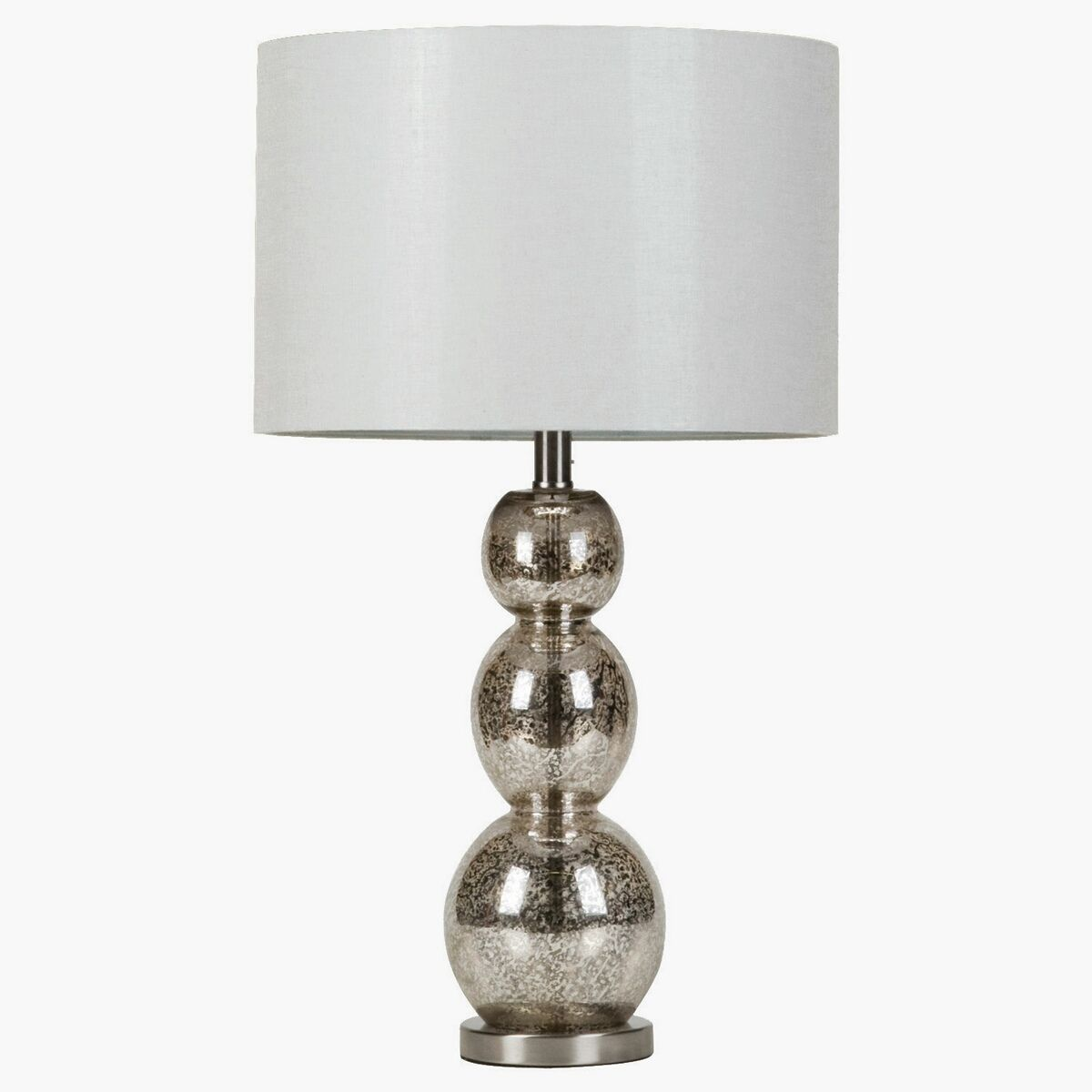 Contemporary Style Mottled Tortoiseshell Finish Table Lamp With 2 Way Bulb Switch This Metallic Features A Uniquely Shaped Base And Mottle The Has Light
