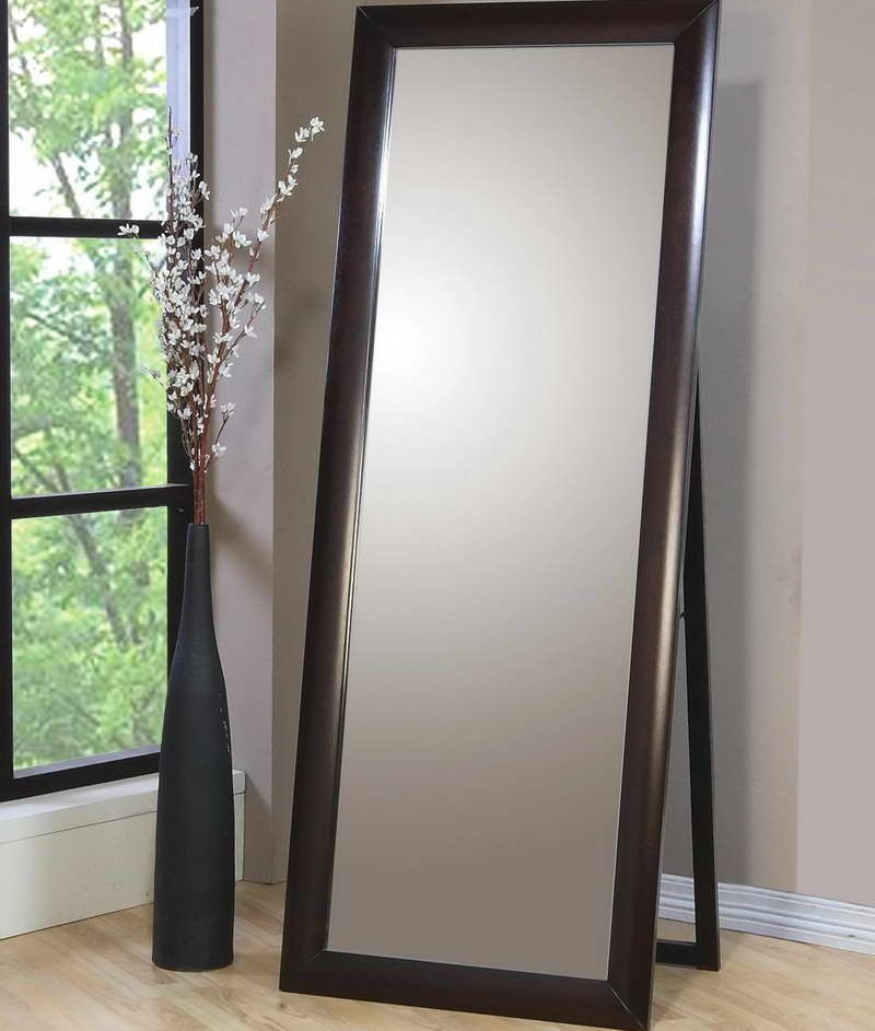 Ikea stand up mirror with unique decorative vase diy for Ikea stand up pupitres