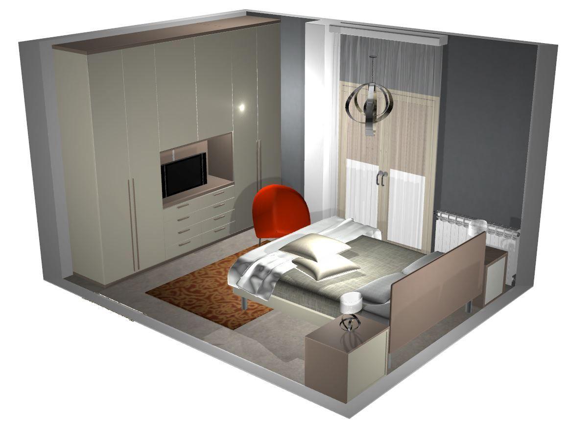 Televisore nell 39 armadio cerca con google idee casa - Letto nell armadio ...