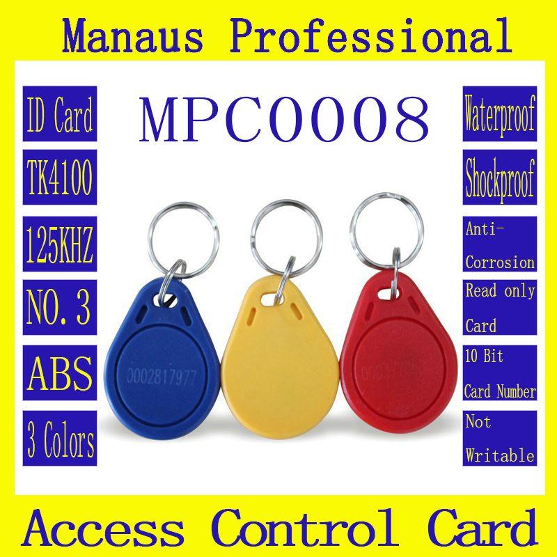 High quality 50pcs rfid 125khz chip tag proximity access