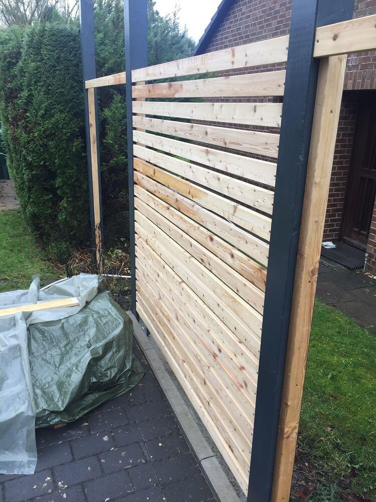 Fertigen Gartenzaun kaufen oder Zaun selber bauen (lassen