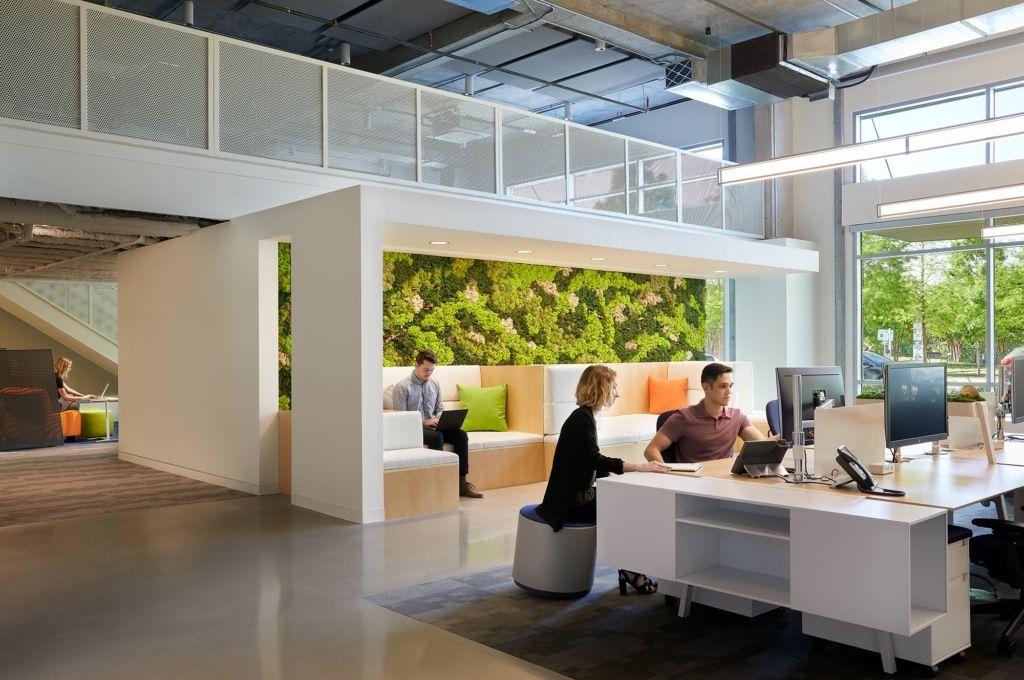 Viasat Offices Austin 6 Corporate Interiors Creative Office