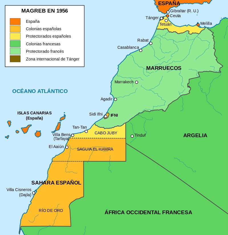 Marruecos Marruecos Colonias Españolas Tánger Marruecos