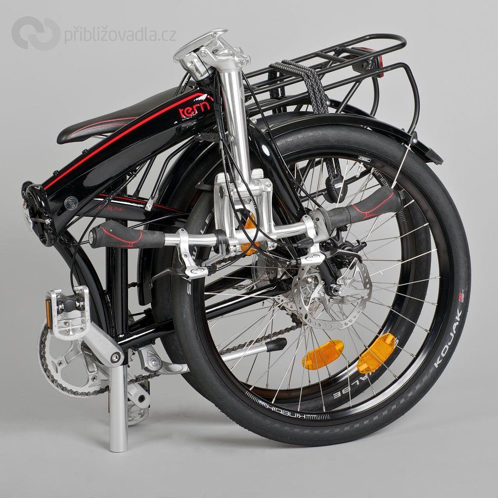 Bici Pieghevole Tern Link P9.Folding Bike Tern Eclipse P9 Skladaci Kolo Tern Eclipse P9