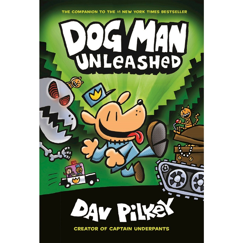 Dog Man Unleashed Hardcover Dav Pilkey Dog Man Unleashed Dog Man Book Dav Pilkey Dog Man