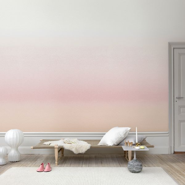 Grungy Pastel Paint Accent Wall: Ombre Wallpapers, Watercolor
