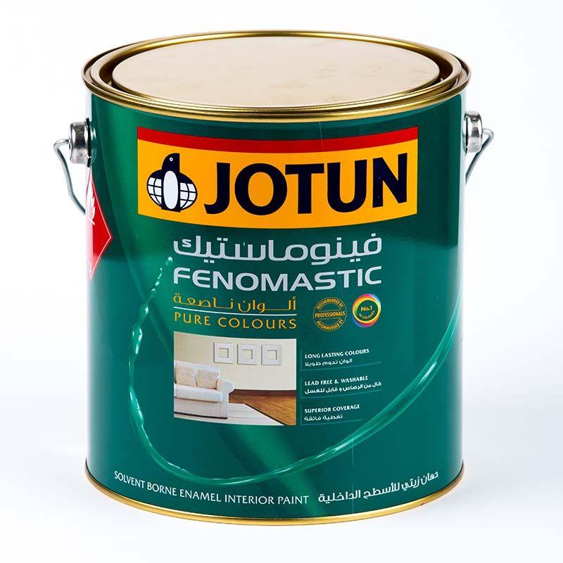 رنگ جوتن فنوماستیک انامل پایه حلال مات براق و نیمه براق می باشد رنگ جوتن فنوماستیک انامل یا به انگلیسی Fenomas Interior Paint Quality Paint White Painting