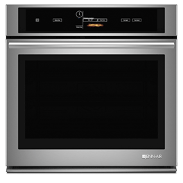 """Jenn-Air 30"""" Single Wall Oven with V2™ Vertical Dual-Fan Convection System JJW3430DS"""