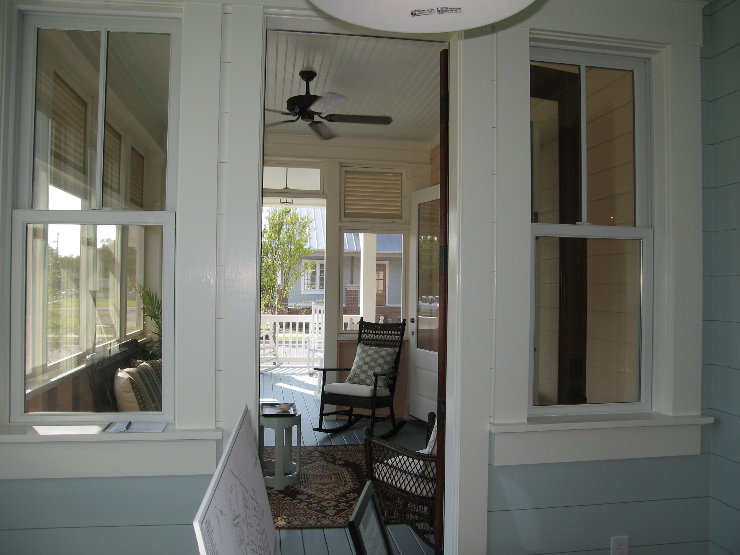 Screened Porch Entrance