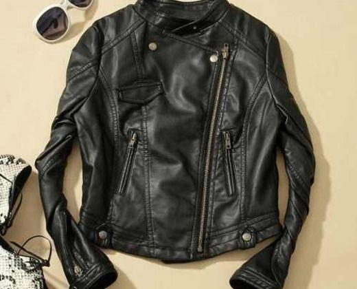 3a62aaca8 born to be wild R$231,50 jaqueta perfecto em couro PU.nunca usada.tamanho M  mas que veste P.