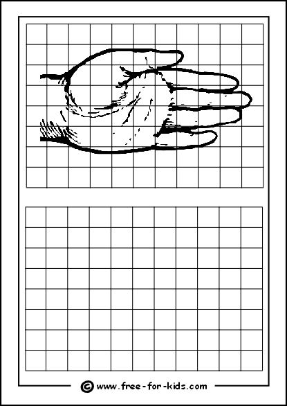 Practice Drawing Grid with Hand,this is the practice I