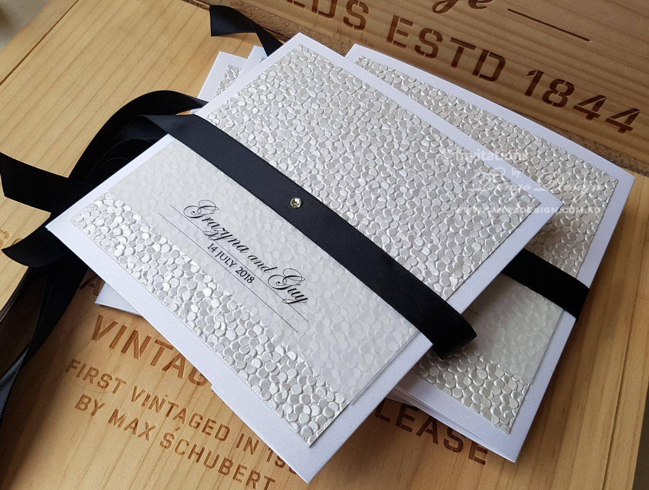 Ivory wedding invitation. Beautiful Invitations wedding design. 25 ...