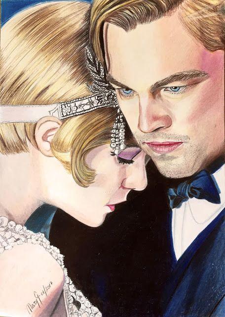 Dibujo Artistico By Mary G El Gran Gatsby My Artdraw