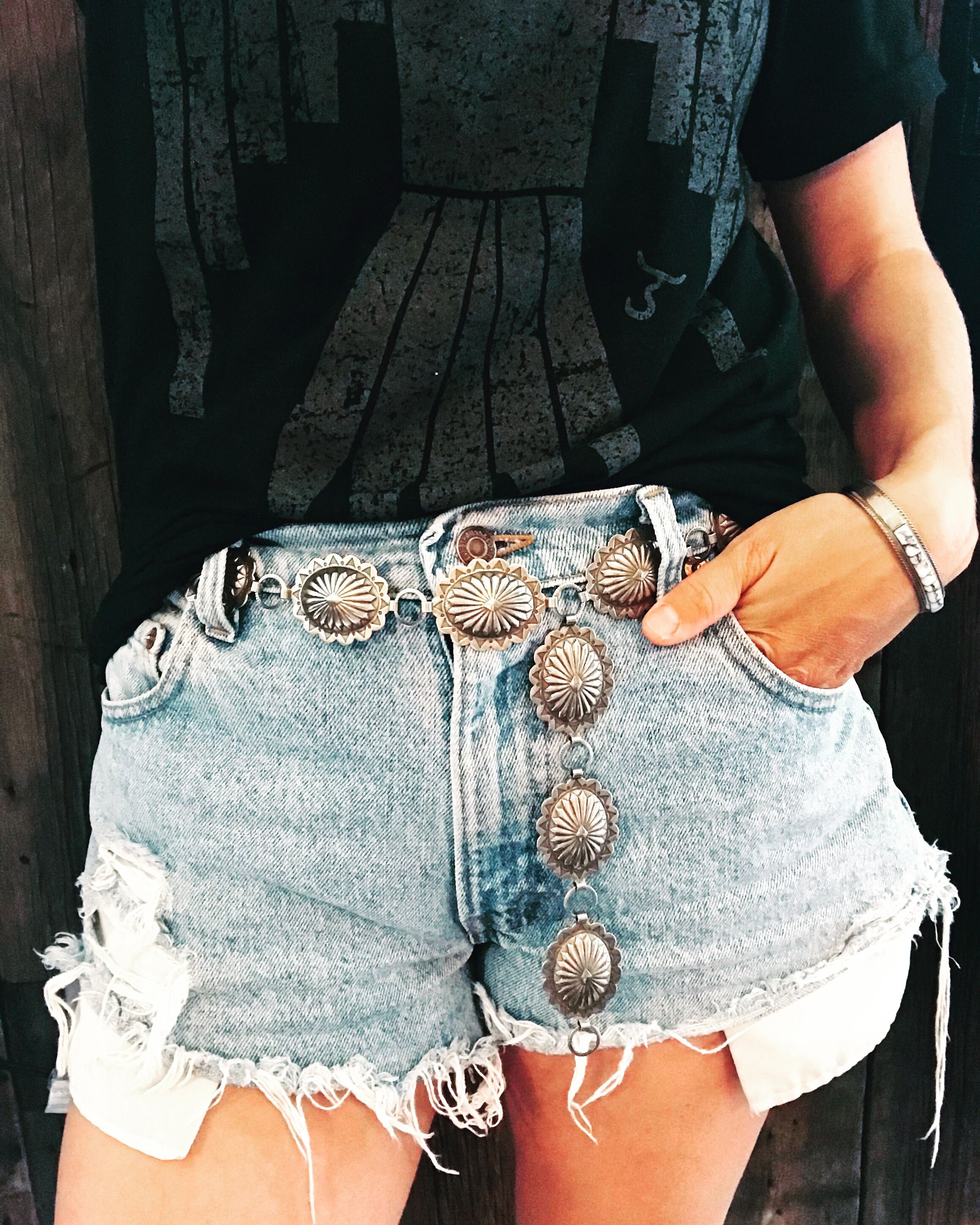 Concho belts have endless styling belts!