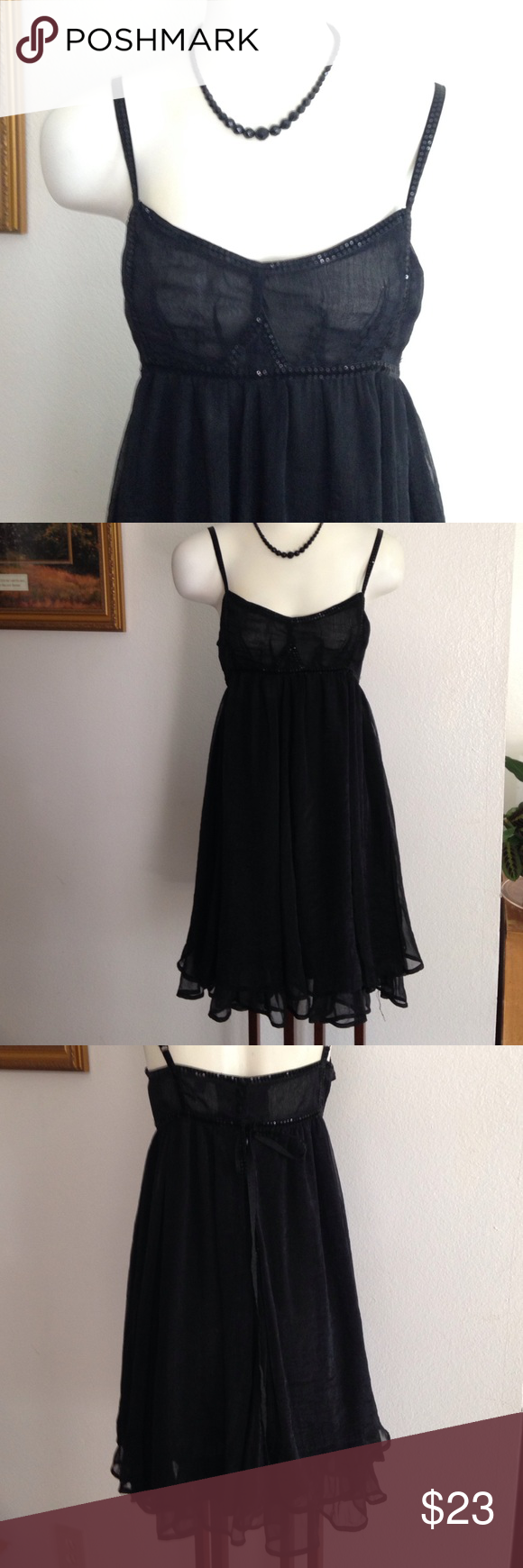 Cecico Cute black dress light and elegant! Dresses
