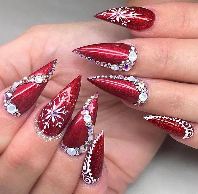 Christmas Nails Not Acrylic: Christmas Nails, Christmas Nail