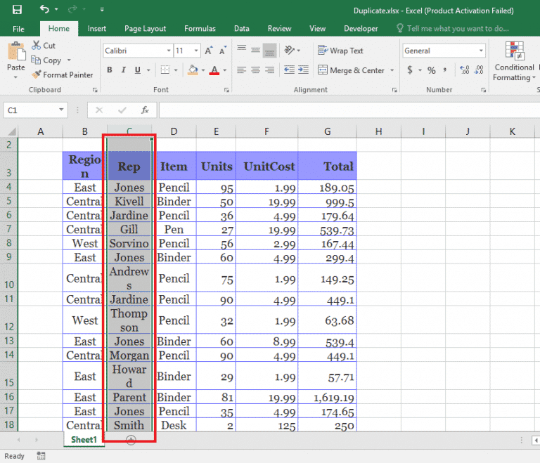 Excel Basics How To Remove Duplicates In Excel The Tech Journal Excel Tutorials Microsoft Excel Tutorial Excel Shortcuts