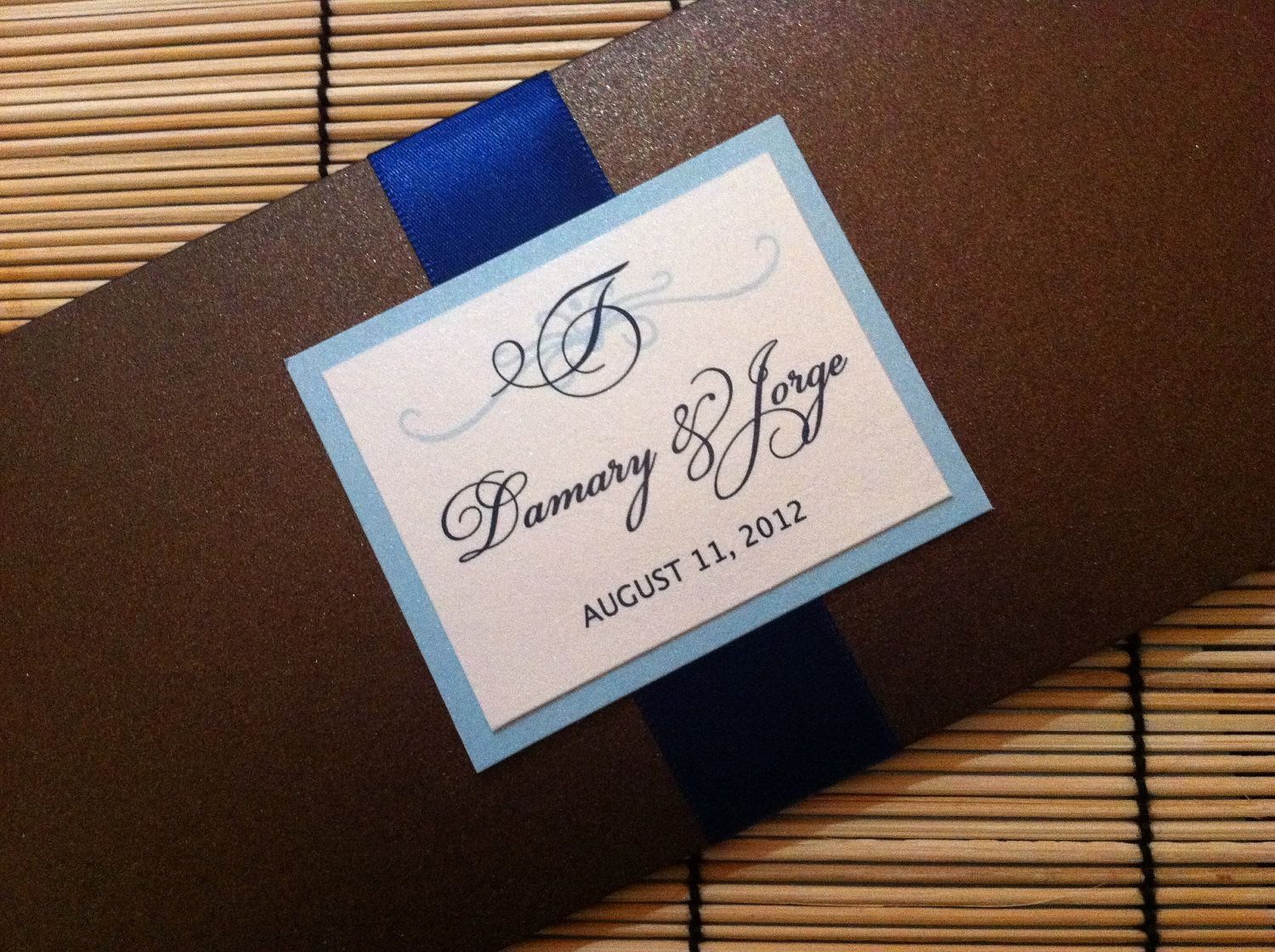 New to anaderoux on Etsy: Vintage boarding pass invitation - SAMPLE (6.50 USD)
