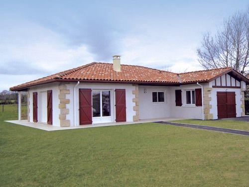 plan maison plain pied pays basque