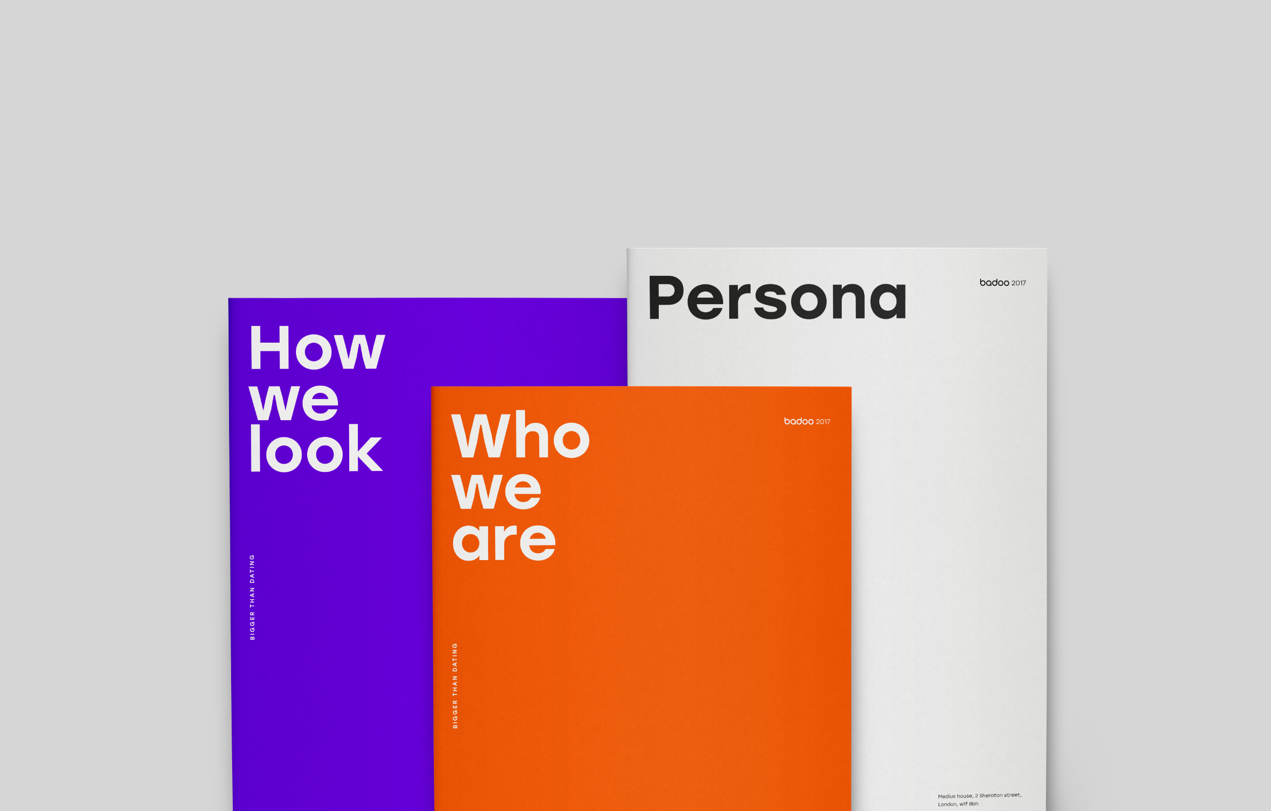 New Badoo Identity On Behance With Images Corporate Identity
