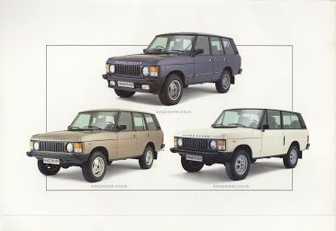Range Rover Classic Brochure Range Rover Range Rover Classic Range Rover Classic Trucks