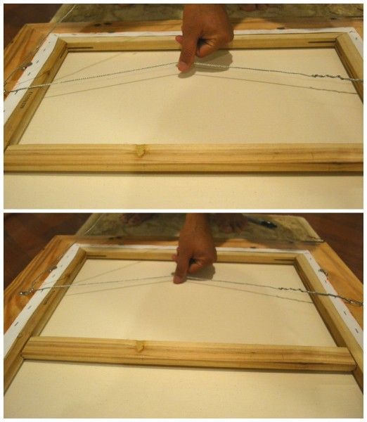 How to Frame a Painting | Canvases, Craft and Fun projects