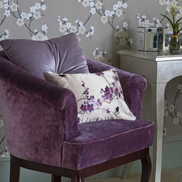 Great Color Scheme: Purple And Silver
