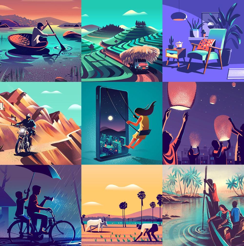 LinkedIn in 2020 Vector art, Creative work, Poster art