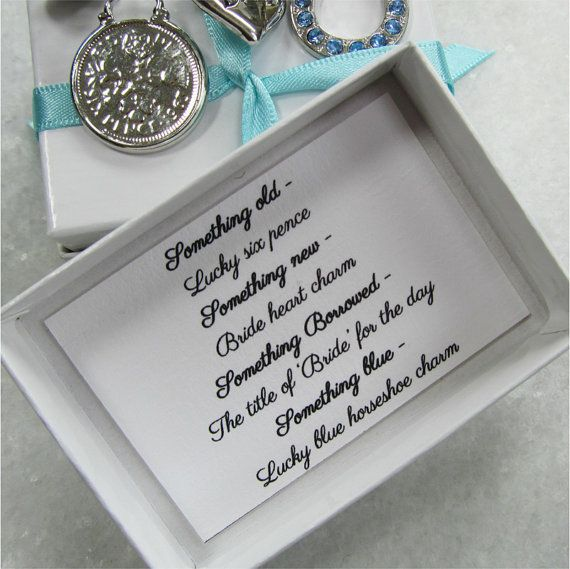 Something Old New Borrowed Blue Keepsake Bridal By
