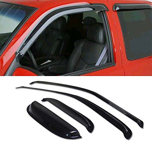 Mifeier 4pcs Sunrain Guard Vent Shade Window Visors Wind Deflector For 9504 Toyota Tacoma Accessextended Automotive Solutions Toyota Tacoma 2004 Toyota Tacoma