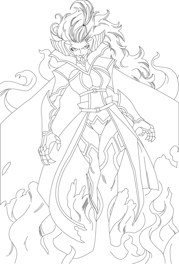 Fairy tail mirajane strauss lineart ch 279 by - Dessin anime de fairy tail ...