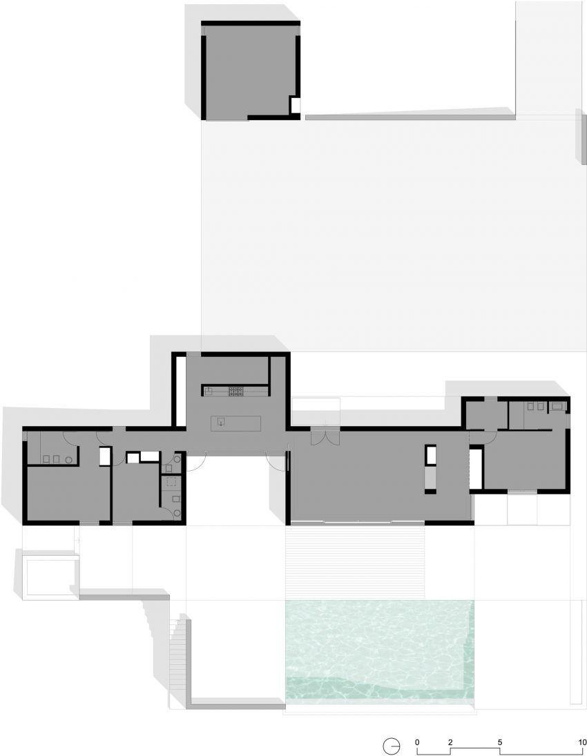 Grandola By Colectivarquitectura 27 House Floor Plans House Plans House