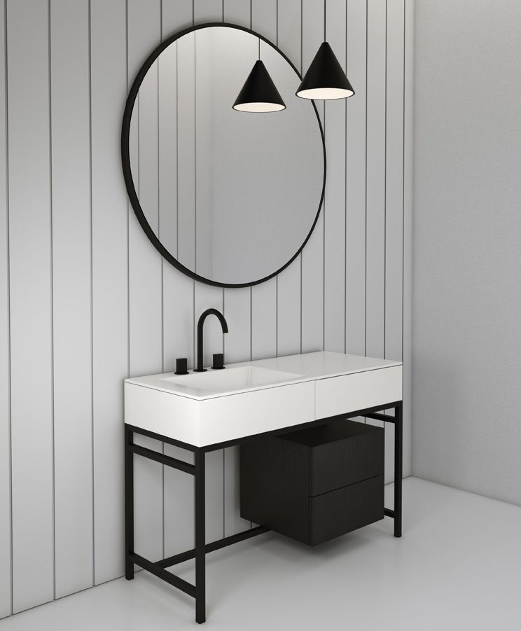 milano bathroom collection by cielo made up of the innovative large
