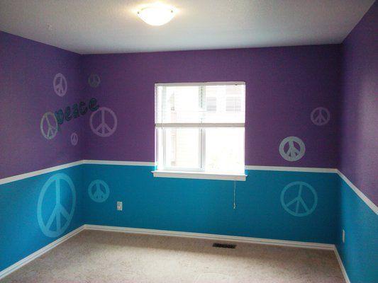 Cute Peace Sign Room Decor