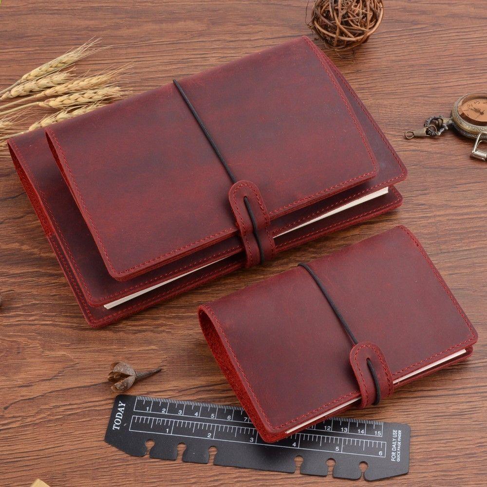 Handmade Vintage Rings Binder Notebook A5 A6 Rozmiar A7