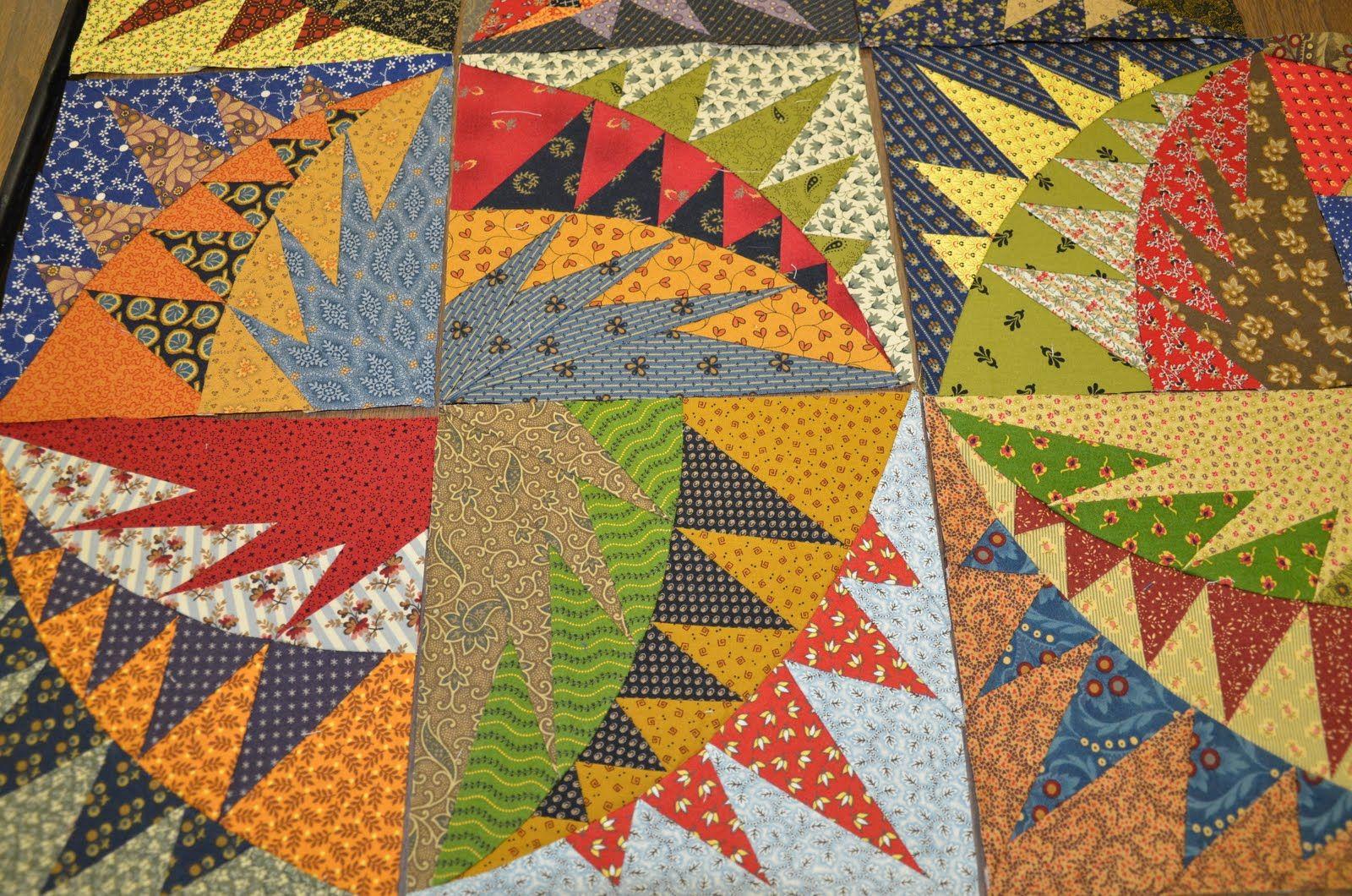 A quilter awakens april pattern by karen k stone quilt